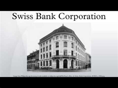 Swiss Bank Corporation Letterhead S G Warburg And Co