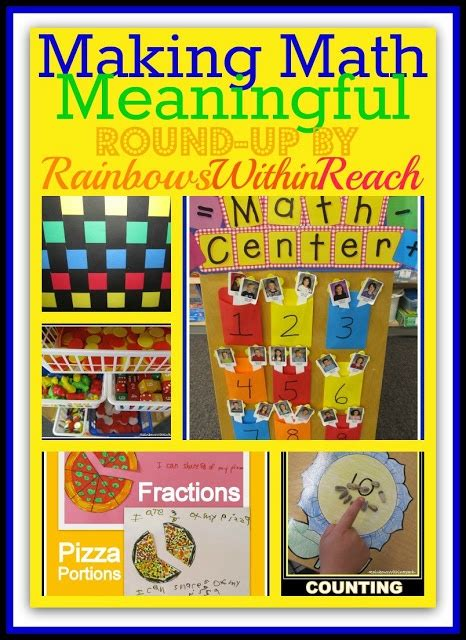 meaningful themes for events making math meaningful building a math foundation