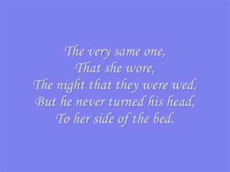 right side of the bed lyrics gretchen wilson the bed lyrics