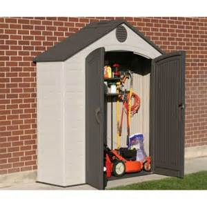 Outdoor Storage Units For Sale Lifetime 6413 8 X 2 5 Ft Storage Shed On Sale Fast