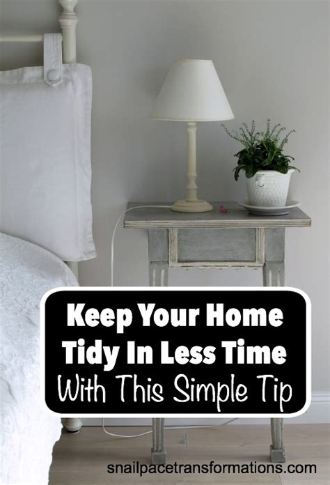 neat and tidy yet spacious and comfortable house plan keep your home tidy in less time with this simple tip