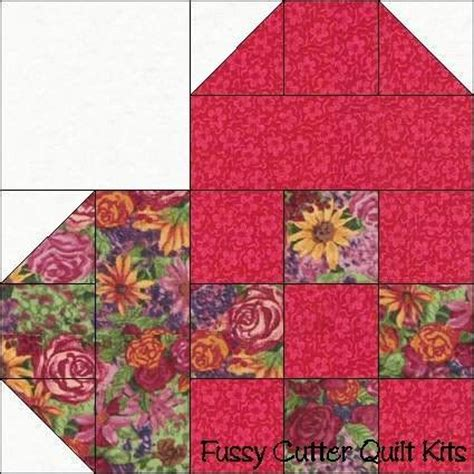 Fussy Cutter Quilt Kits by Hearts Scrappy Calico Patch Fabric Fast Easy Pre Cut Quilt
