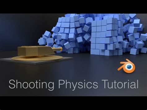 tutorial blender physics bullet projectiles physics blender animation tutorial