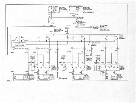 1999 cadillac seville wiring diagrams lights 1999 just