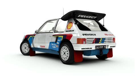 peugeot 205 group b peugeot 205 t16 group b mesa s artworks