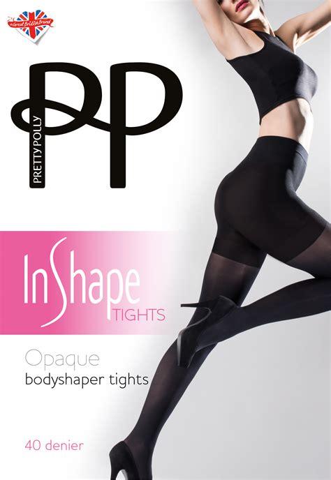 Shaper Tights pretty polly in shape opaque bodyshaper tights 40 denier