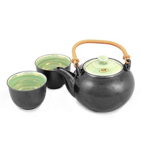 Green Tea Set by Black And Green Tea Set