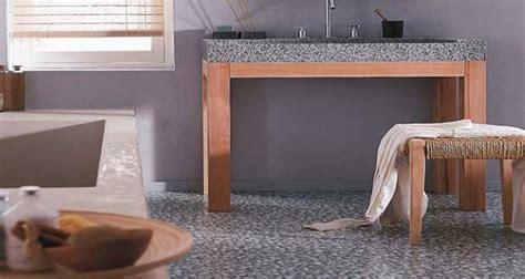 sol pvc salle de bain un rev 234 tement de sol d 233 co bluffant