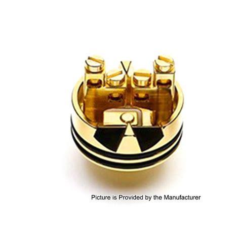 authentic desire rabies rda gold 24mm aluminum alloy pei