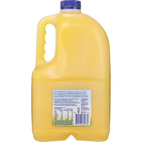 Product Citrange Juice Side Juicer daily juice pulp free orange juice no added sugar 3l woolworths