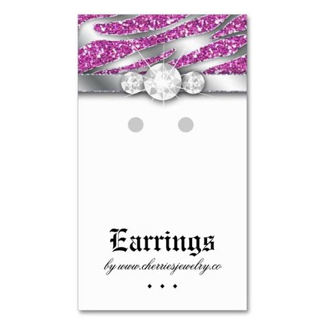 Display Business Cards Templates by 1565 Best Earring Display Card Templates Images On