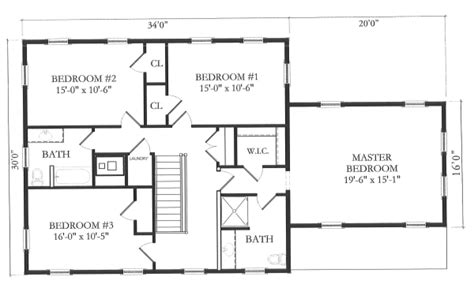 house measurements very simple house floor plans