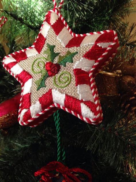 fun star needlepoint ornament raymond crawford canvas