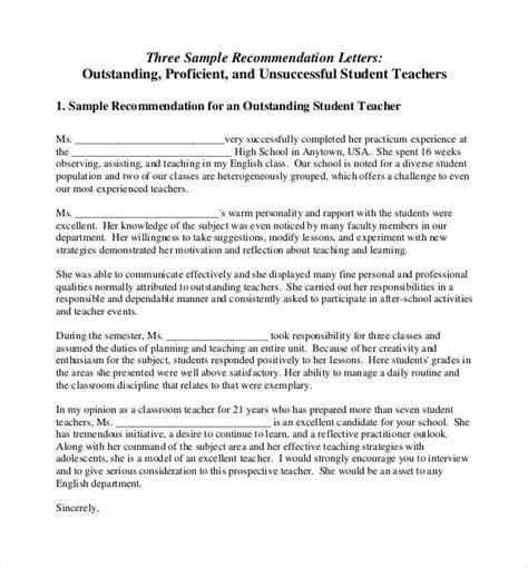 sample high school teacher high school recommendation letter
