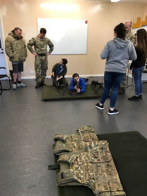regiment day at raf cosford for blue skies students west