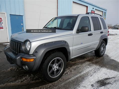 jeep liberty size 2003 jeep liberty freedom edition tire size free
