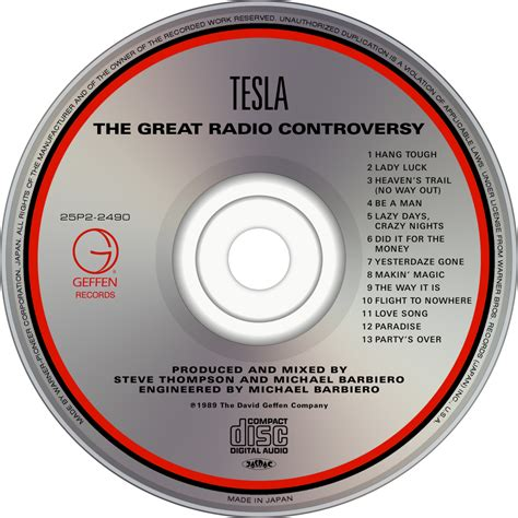 Tesla The Great Radio Controversy Album Tesla Fanart Fanart Tv