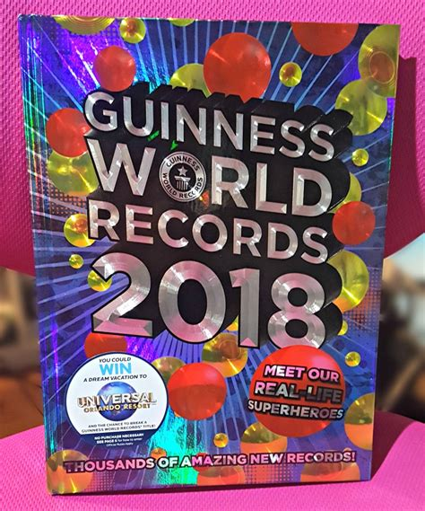 guinness world records 2018 edition books bone up your facts and trivia with guinness world records