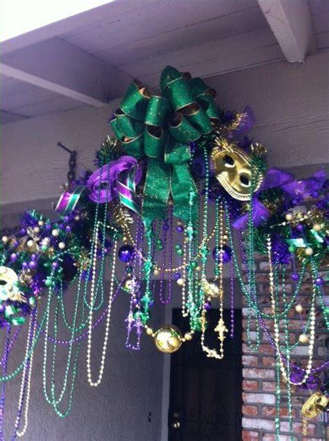 Mardi Gra Decorations by Mardi Gras Decor Bobby Did It Entrance