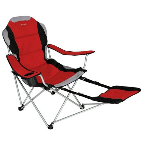 reclining folding c chair with footrest 17 best images about folding cing chairs on pinterest