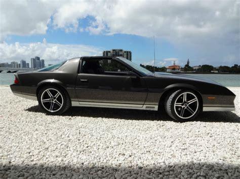 camaro 305 engine 1984 camaro z 28 l69 305 high output engine 5 speed