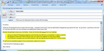 how to write a great follow up email to a meeting