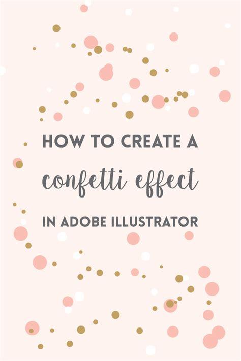 how to make ai you card create a confetti brush in illustrator 183 elan studio