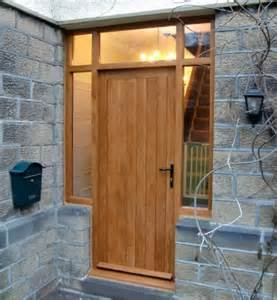 Solid Oak Front Doors Solid Wood Doors Made To Measure Near Ilkley Yorkshirefine Wood Designs Ltd