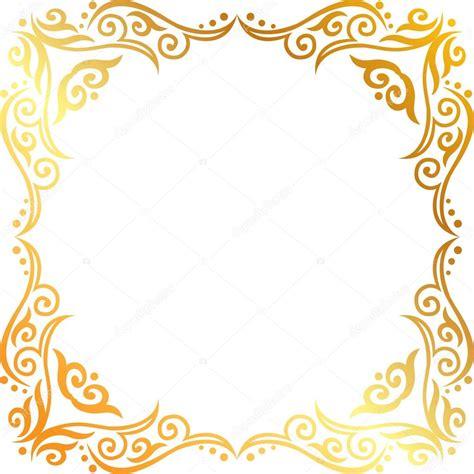 cornici illustrator gold frame stock vector 169 panambapro 40118741