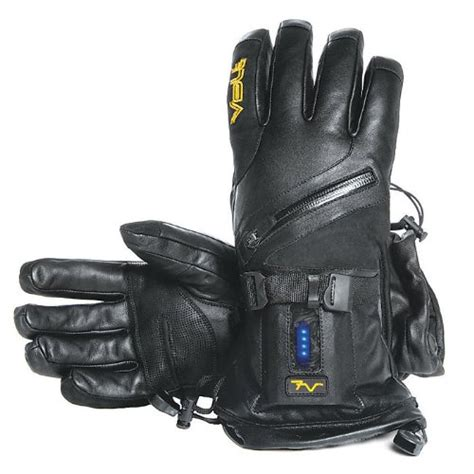 Heated Leather by Waterproof Heated Leather Gloves