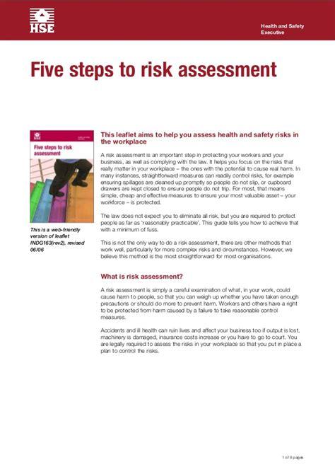 step ladder risk assessment template five steps to risk assessment driverlayer search engine