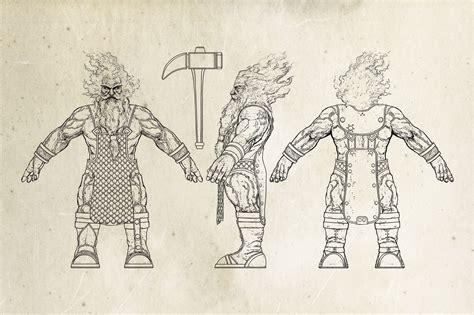 printable heroes fire giant fire giant огненный великан sketch m m heroes 7