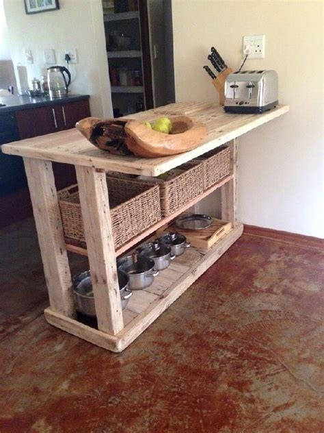 Inspired Pallet Kitchen Cabinets Ideas   Pallets Designs