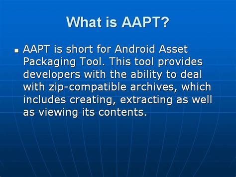 aapt android most important android questions with answers testingbrain