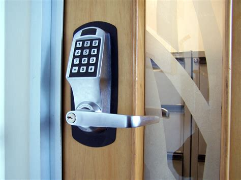 automatic door locks in home automation systems local