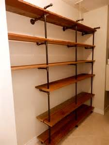 black pipe shelves wall shelves made with black iron pipe and by