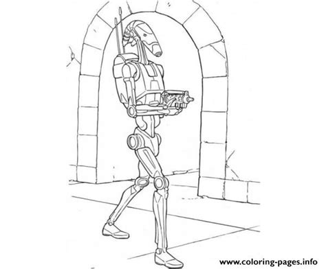 star wars droid coloring page battle droid coloring pages coloring pages