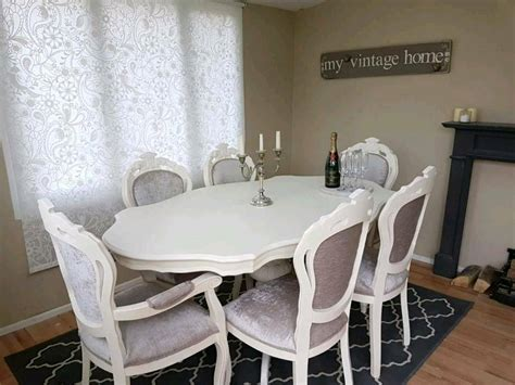 stunning italian shabby chic dining table   chairs