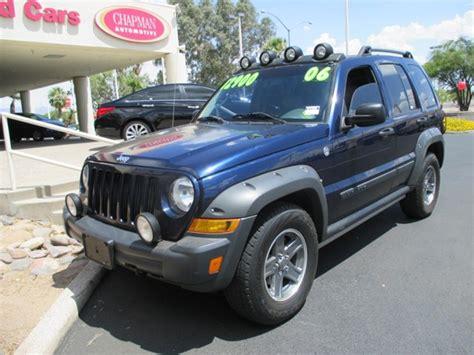 2006 Jeep Liberty Renegade Used Cars For Sale In Tucson Arizona Chapman Used Cars
