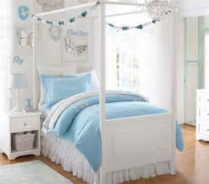Kids Canopy Beds For Cheap by Feminine Blue Bedding Set For Girls The Shopping