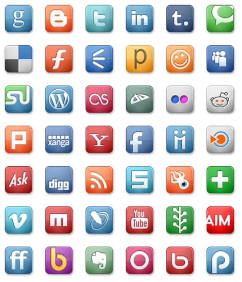 Free Social Media Search Social Media Icons 42 Free Icons Icon Search Engine