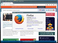 Firefox 55 Released – Install on RedHat and Debian Based ... Install Firefox