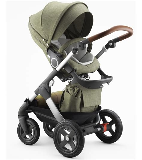 Baby Stoller stokke trailz stroller exclusive edition nordic green