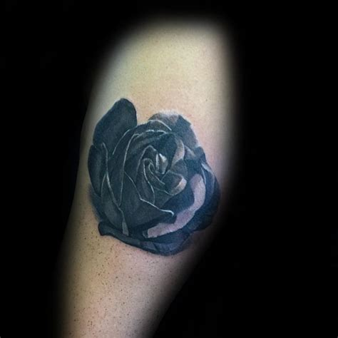 black shaded rose tattoos 80 black designs for ink ideas