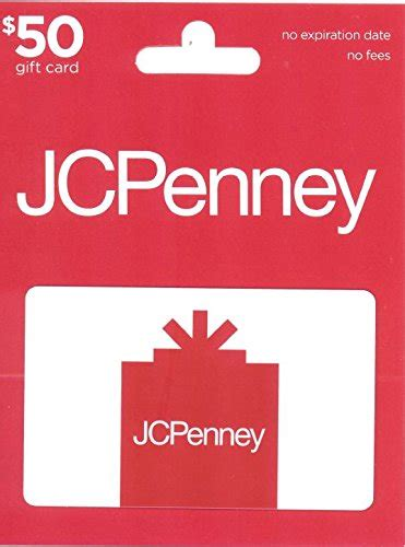 Jc Penny Gift Card - jcpenney gift card 50