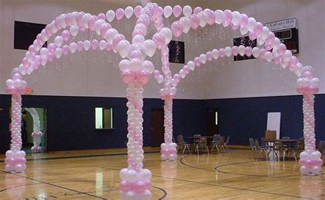 table balloon decorations party favors ideas