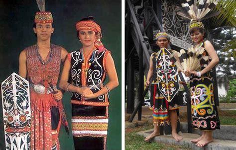 Baju Adat Dayak Kalimantan Selatan 5 pakaian adat kalimantan timur gambar dan filosofinya