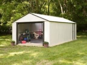 storage shed heavy steel 12 x17 building garage tractor