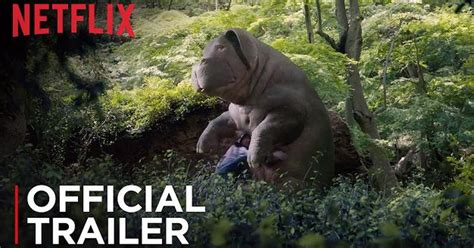 film giant pig this okja trailer is the giant pig monster movie of your