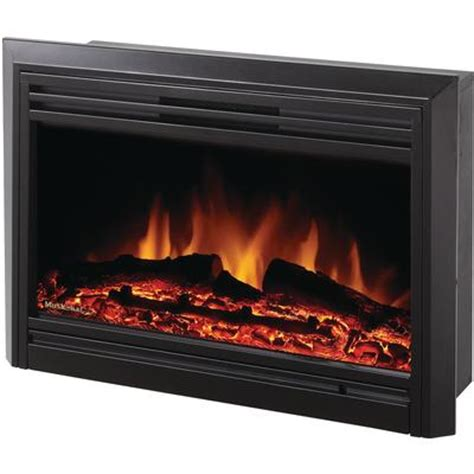 Where To Buy Electric Fireplace Inserts by Muskoka Electric Fireplace Insert Gloss Black 25 Inch